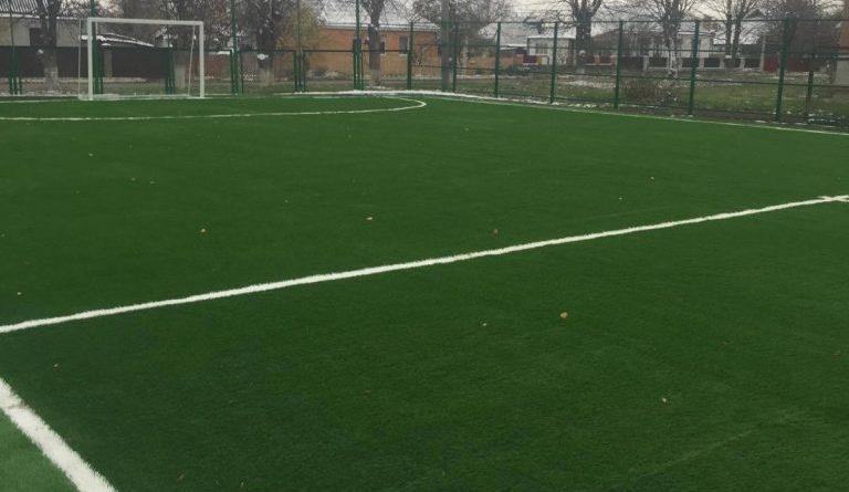 У Катеринополі завершили реконструкцію мініфутбольного поля