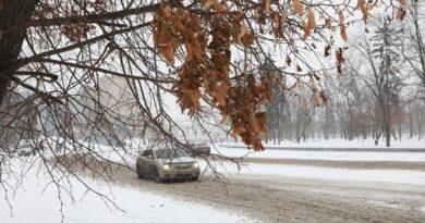 Снігопад у Катеринополі